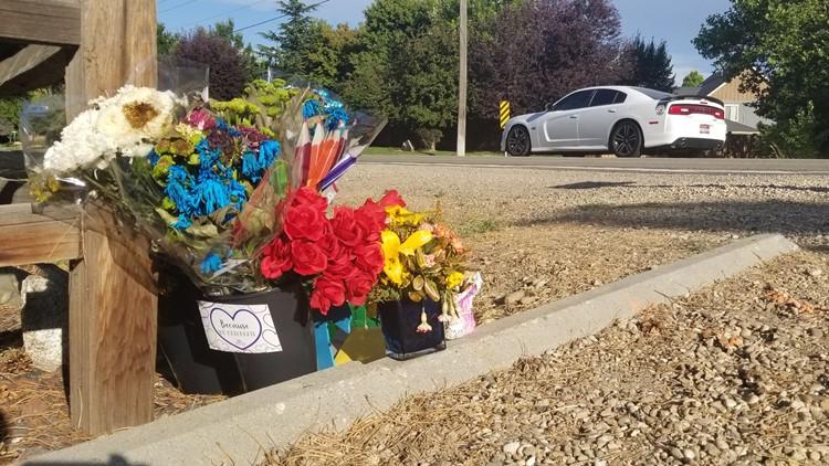 Boy killed in crash memorial