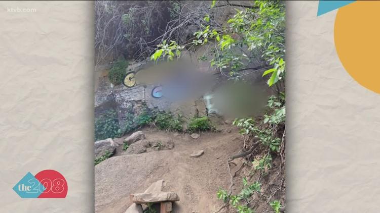 Vandals deface rocks at popular Magic Valley trail