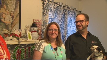 'We feel blessed:' Radio station, businesses team up to fix up families' homes