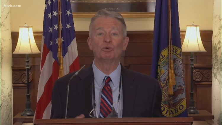 Idaho Gov. Little on 'decisive' times in statehouse and 'fringe topics' derailing work