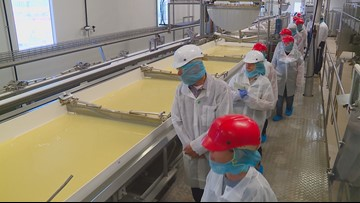 Educators get more than just a tour of Nampa cheese facility