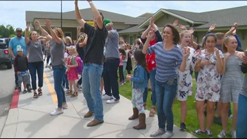 Idaho Life: Eagle charter school celebrates start of summer break with dance party
