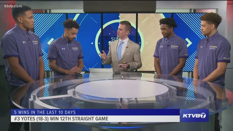 Sunday Sports Extra: The No. 3 College of Idaho Yotes explain how they've won 12 straight games