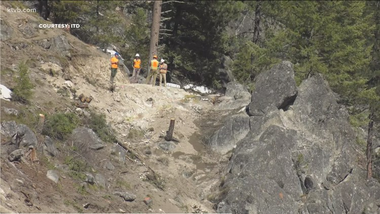 ITD releases info on Highway 55 rockslide