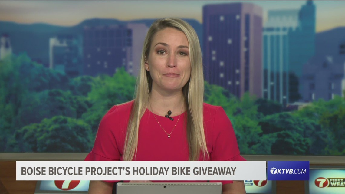 Boise Bicycle Project donates bikes to kids