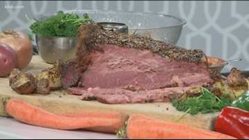KTVB Kitchen: How to cook roasted corned beef for St. Patrick's Day with all the fixings