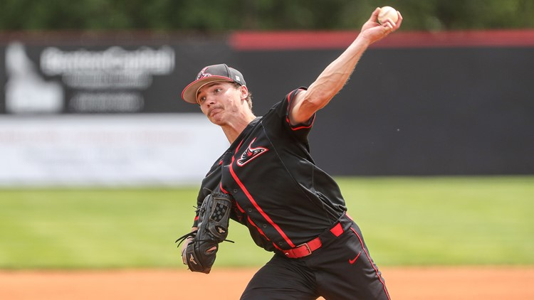 NNU baseball team follows heartbreaking loss with historic win on Day 1 of the NCAA DII West Regional Tournament