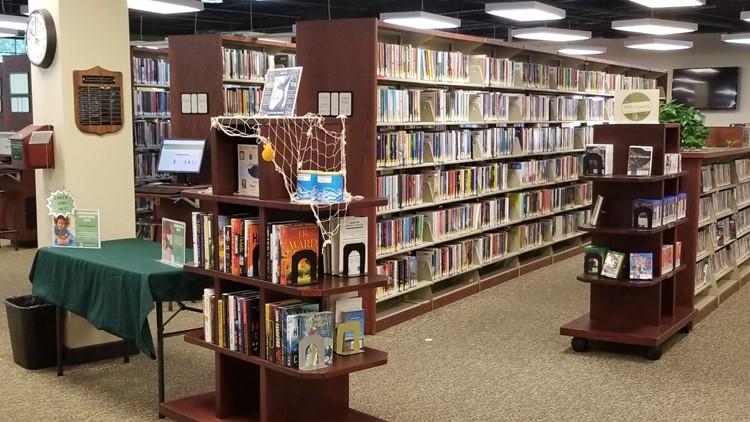 Where's Larry? Garden City Library