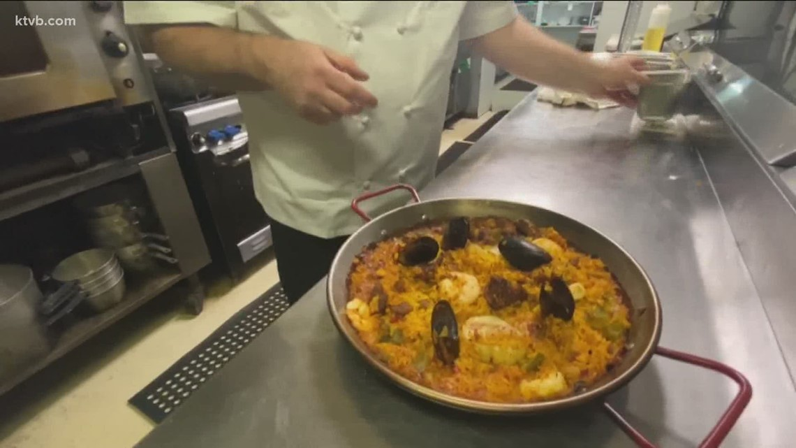 KTVB Kitchen with Chef Steve Topple: Seafood Paella