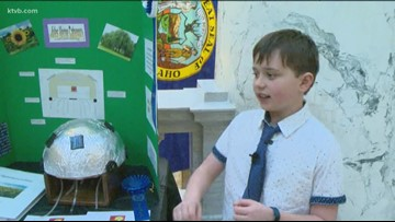 Young inventors show off their ideas at the Idaho Capitol