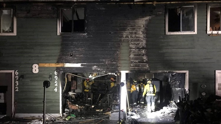 Boise apartment fire leaves 3 families displaced