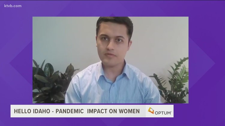 Hello Idaho: Boise State researcher examines pandemic's effect on women