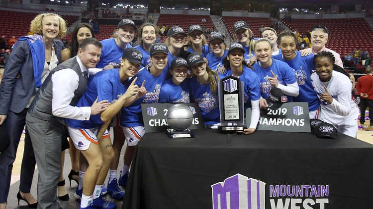 Boise State claims third consecutive Mountain West Conference Championship, headed to NCAA Tournament