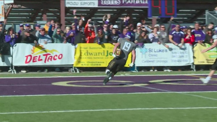 No. 10 College of Idaho pick-six goes viral and on SportsCenter Top Plays