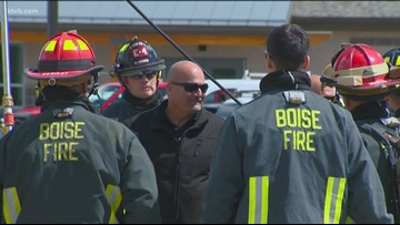 Political ad pulled by firefighters union after request from Boise fire chief