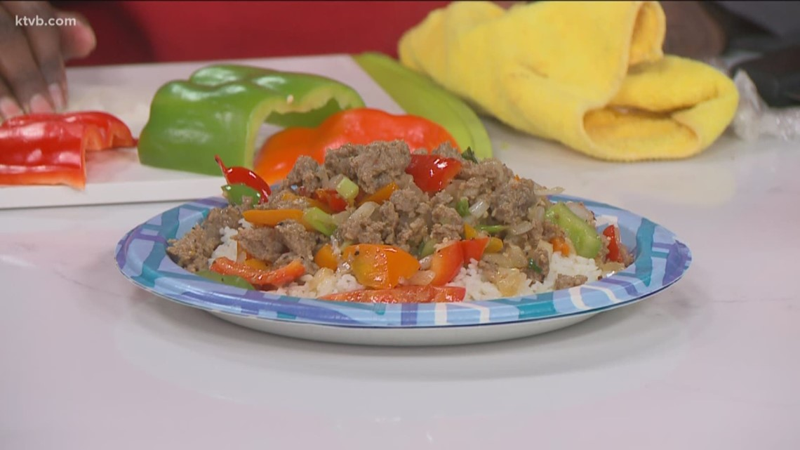 KTVB Kitchen: How to make a sausage pepper and onion dish