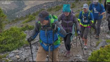 Boise man battling terminal cancer climbs Idaho's tallest peak for his bucket list