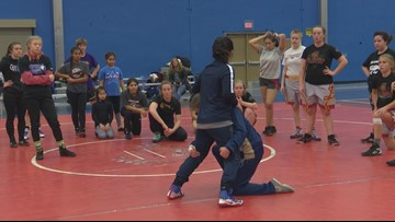 Women's wrestling becoming more popular throughout Idaho