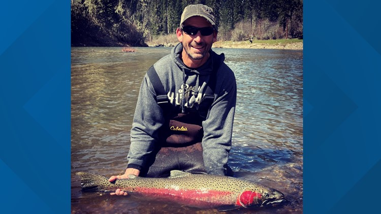 Boise man catches record-breaking steelhead from the South Fork