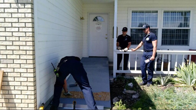 7's hero firefighters help build wheelchair ramp for Nampa veteran