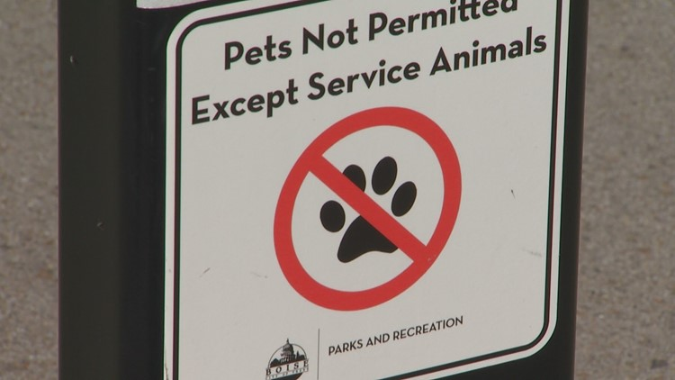 Why your dog isn't allowed at some Boise ponds | ktvb com