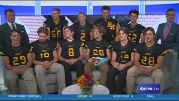 Bishop Kelly Knights join Friday Night Football following their win over the Columbia Wildcats
