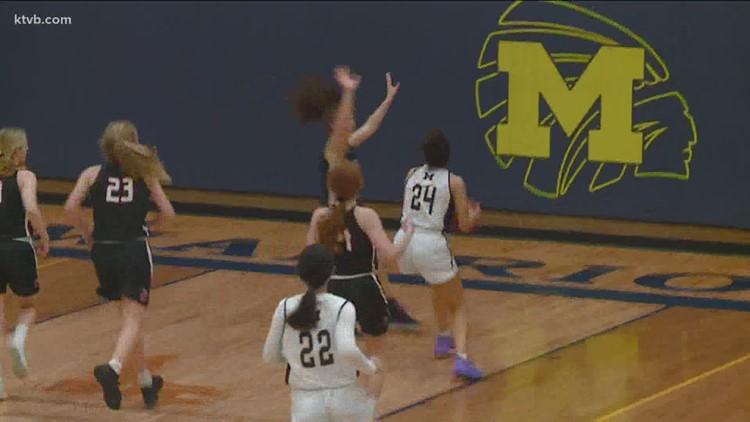 Girls basketball: Meridian vs. Boise High