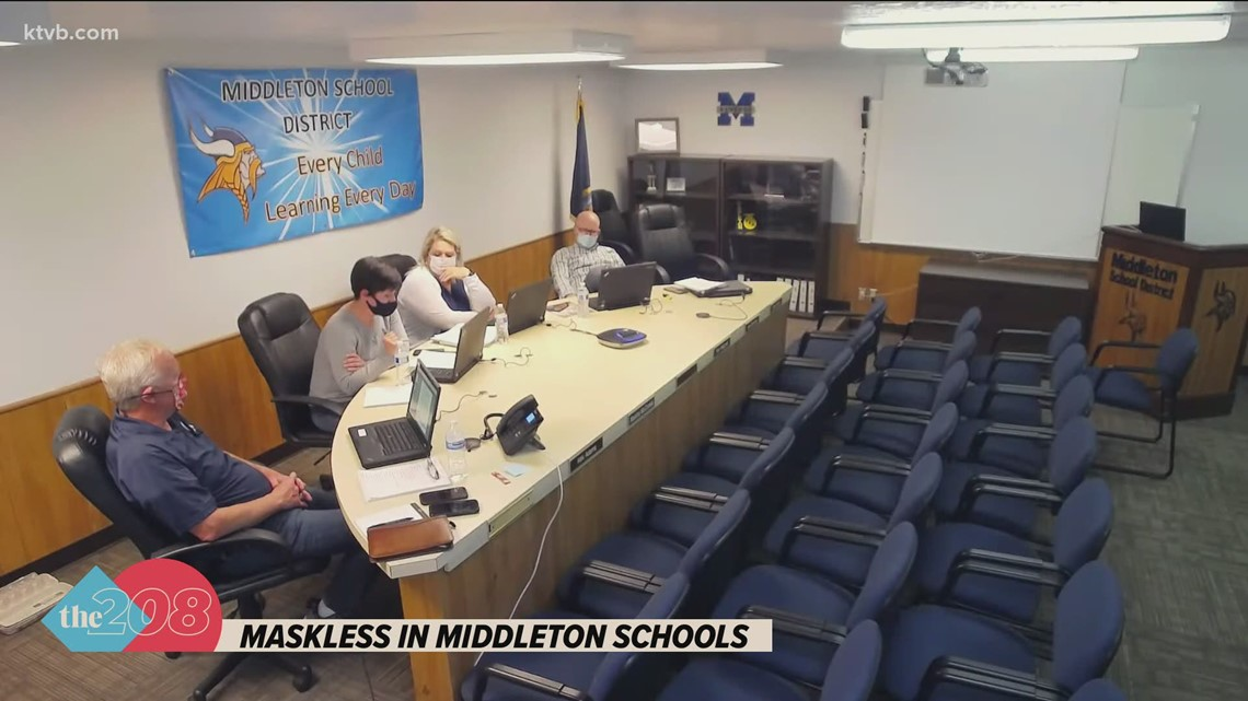 Middleton school board ends district's face mask policy