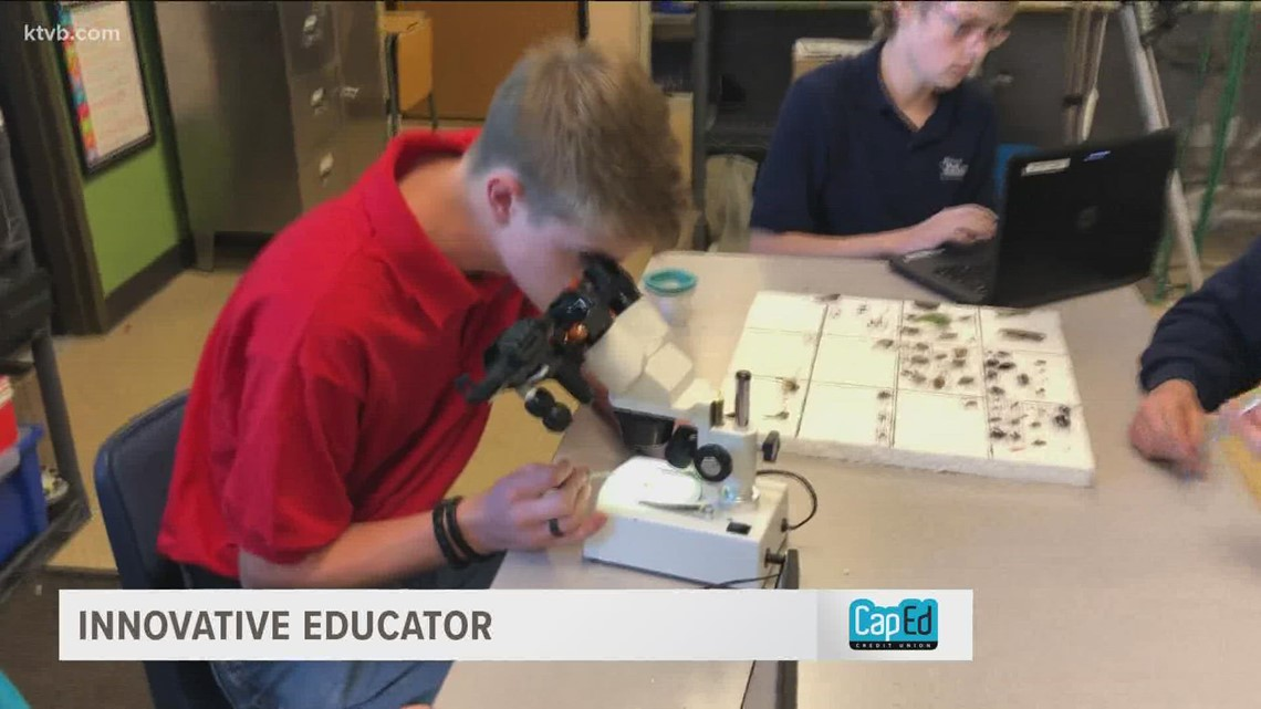 Mountain Home teacher uses insects to explain the natural world