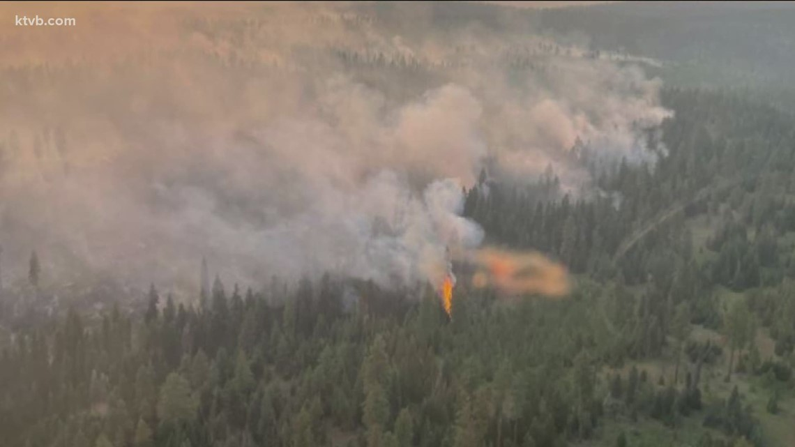 Idaho wildfire update for Wednesday, July 21
