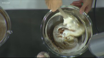KTVB Kitchen: How to make a decadent pumpkin or chocolate dessert mousse