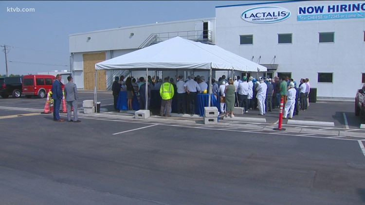 Nampa cheese factory opens new employee facility and cheese shop