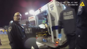 Body cam footage shows Boise police officers saving lives: 'I went dead three times and they kept bringing me back'