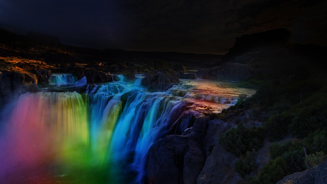 'Shoshone Falls After Dark' kicks off for the entire month of May