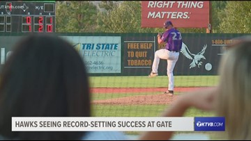 Boise Hawks seeing record-setting success at the gates