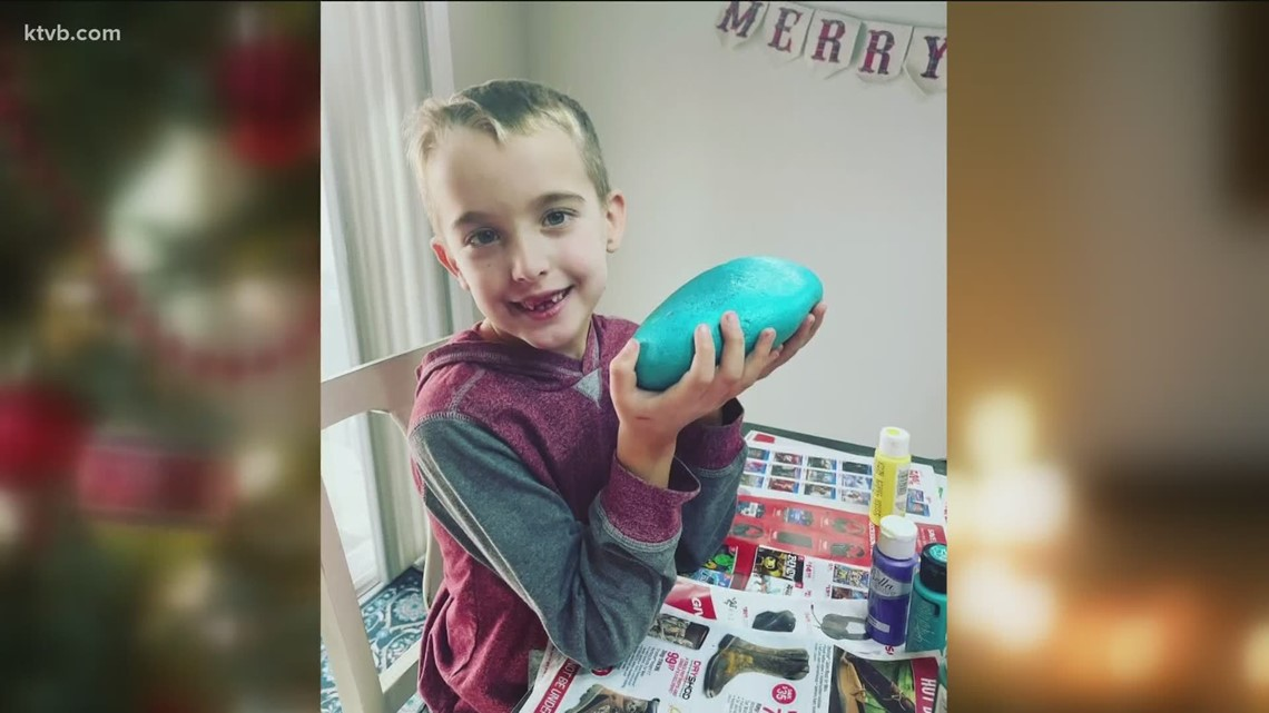 7's Hero: Meridian kindergartener sells his rock collection to buy Christmas gifts for his family, kids in need