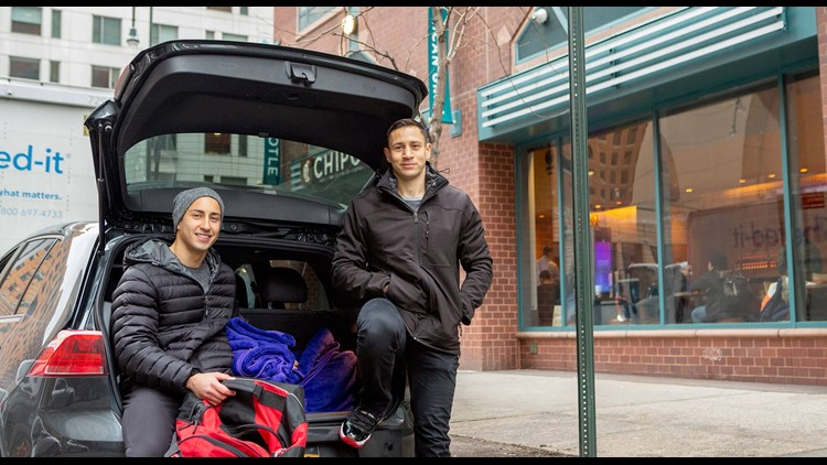 Mike and Nick Fiorito started Blankets of Hope to help the homeless in New York, the effort has spread across the country.