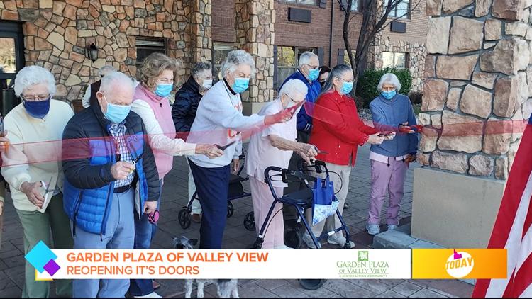 Idaho Today: Garden Plaza of Valley View reopening it's doors!