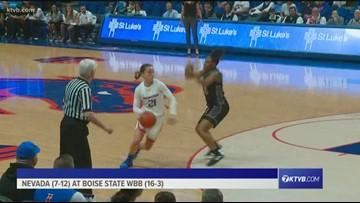 HIGHLIGHTS: Boise State vs. Nevada WBB