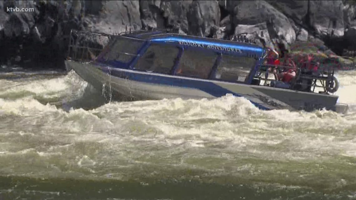 Solar power and drought impact water flows in Hells Canyon