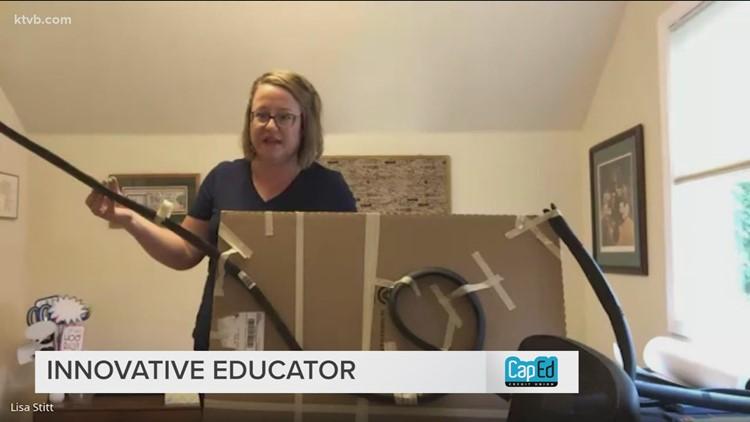 Boise Online School teacher energizes students with movement