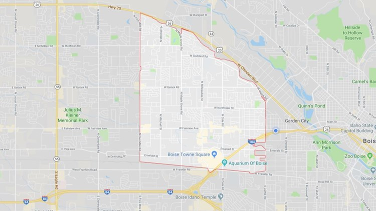 Bericht: Boise Postleitzahl gehört zu den \