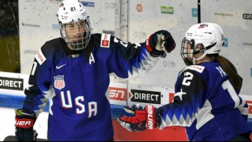 Hilary Knight: Taking on a tough task in women's sports