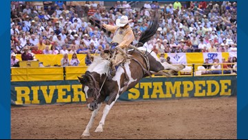 'It's top-notch, edge of  your seat': Snake River Stampede back for its 104th year