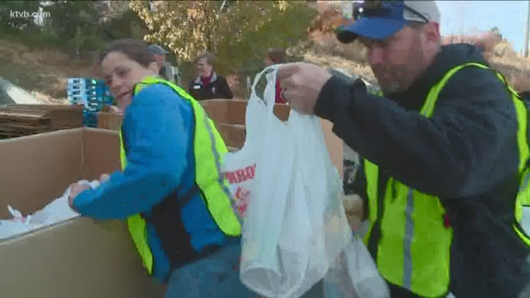 Boy Scouts and the Idaho Foodbank help make sure Treasure Valley families don't go hungry