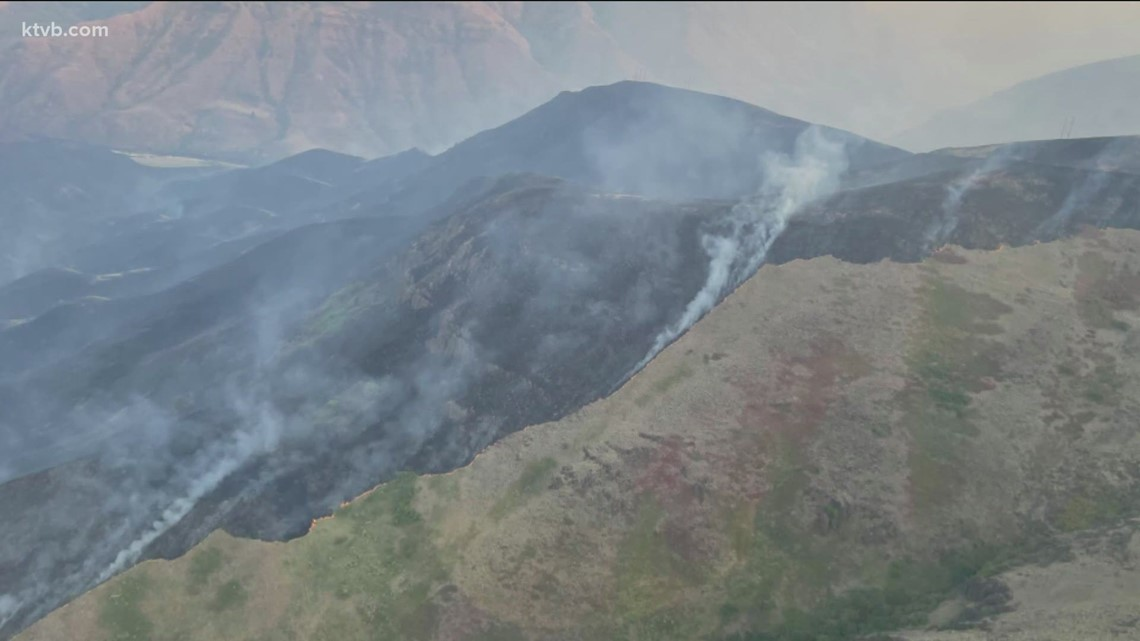 Wildfires across Idaho update for July 16