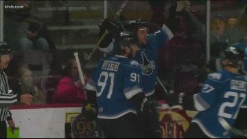 Idaho Steelheads bounce back in game 2 in their playoff series with the Utah Grizzlies