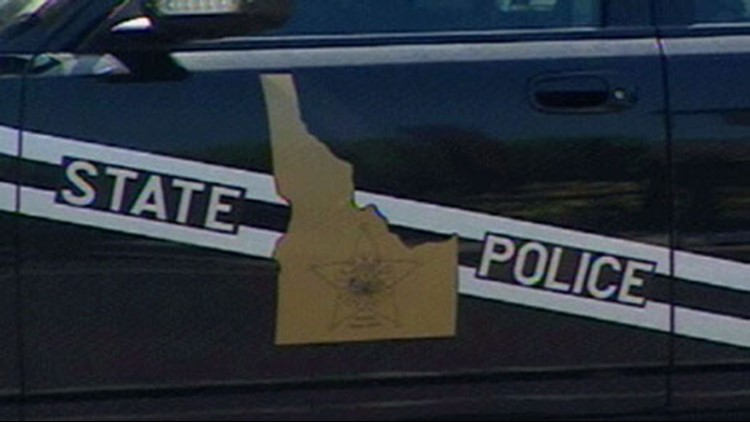 Idaho State Police trooper collides with semi-truck on I-84