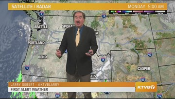Web weather for Monday, Feb. 4