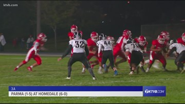 Class 3A Varsity Football Highlights: Parma Panthers vs. Homedale Trojans